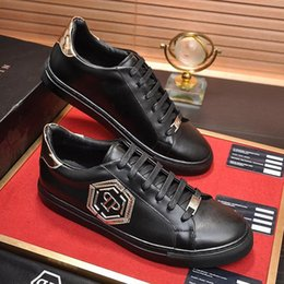 Hexagon boxes online shopping - Fashion Designer Luxury Casual Mens Shoes Breathable Flats Fashion with Box Scarpe da uomo Men Shoes Lo Top Sneakers Hexagon Fashion Typ