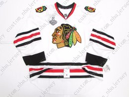 5c5f87a1fdd Cheap custom CHICAGO BLACKHAWKS AWAY TEAM ISSUE 2013 STANLEY CUP  JERSEYstitch add any number any name Mens Hockey Jersey XS-5XL