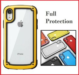 $enCountryForm.capitalKeyWord Australia - Luxury Hybrid Transparent Bumper Corner Shockproof Protective Thin Silicone PC Phone Case Cover For Apple iPhone XS Max XR X 8 7 6 Plus
