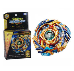 spin toys UK - 4D Beyblade Burst Toys Arena With Launcher and Box Bayblade Metal Fusion God Spinning Top Bey Blades Toy