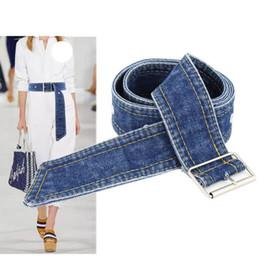Dresses Apparel Australia - 2019 New Women Belt Fashion Denim Belts Decoration Paper Tapes Shirts Dress Cowboy Belt Womens Apparel Accessories C19041301
