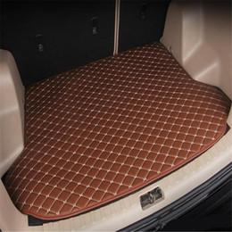 Audi Car Trunk Australia - Free Shipping 2012year-2018year Audi A1 car skid trunk mat slip non-slip waterproof leather carpet car trunk mat Car trunk flat mat