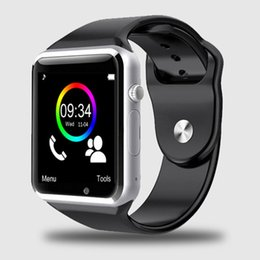 $enCountryForm.capitalKeyWord Australia - A1 WristWatch Bluetooth Smart Watch Sport Pedometer with SIM Camera Smartwatch For Android Smartphone Russia T15