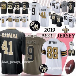 a32b857b7 New Orleans jerseys Saints 41 Alvin Kamara 9 Drew Brees 23 Marshon  Lattimore 13 Michael Thomas new jerseys 2019
