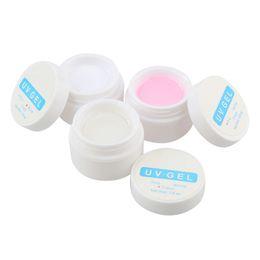 $enCountryForm.capitalKeyWord Australia - Art UV Nail Polish Pink White Clear Transparent UV Curing Gel Polish Builder Extension Bio Gel Manicure Nail