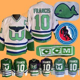 Hockey jerseys Hartford wHalers online shopping - Ron Francis Jersey Hall Of  Fame Patch Hartford Whalers 16afc3b85