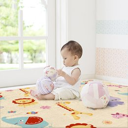 baby crawling blanket game UK - 1.8*2M Non-Slip Baby Carpet Game Play Mat Foam Puzzle Pad Child Crawling Blanket