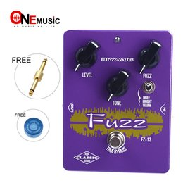 Biyang Effects Pedals Australia - Biyang FZ-12 Triple Mode Analog Fuzz Classic Series true Bypass Guitar Effect Pedal With Free Connector MU0549