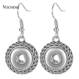 $enCountryForm.capitalKeyWord UK - 10pcs lot Fashion Beauty charm snap earrings fit 12mm snap buttons DIY earrings jewelry dangle earrings NN-739*10