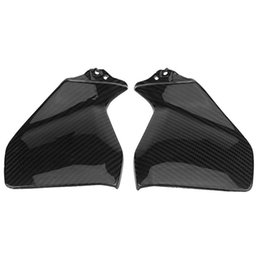 motorcycle fiber fairings Canada - for MT-09 FZ-09 MT09 FZ09 2014 2020 2020 MT 09 FZ 09 Real Carbon Fiber Gas Tank Side Cover Trim Fairing Motorcycle