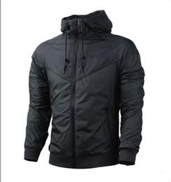 Frete grátis Queda windrunner Das Mulheres Dos Homens NIKΕ jaqueta sportswear tecido jaqueta de alta qualidade à prova d 'água Dos Homens jaqueta Moda zipper com capuz venda por atacado