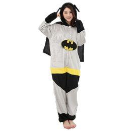 76f10630fc Adultos Anime Batman Superman Kigurumi Onesies Disfraz Para Mujeres Hombres  Divertido Cálido Suave Animal Lindo Onepieces Pijamas Ropa para el hogar  Chica