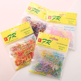 $enCountryForm.capitalKeyWord Australia - 1000pcs bag (small package) New Child Baby TPU Hair Holders Rubber Bands Elastics Girl's Tie Gum Hair Accessories Rubber string