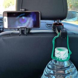 cloths for cars 2019 - Car Headrest Hook Car Back Seat Hanger with Phone Holder for Bag Handbag Purse Grocery Cloth Easy Install cheap cloths f