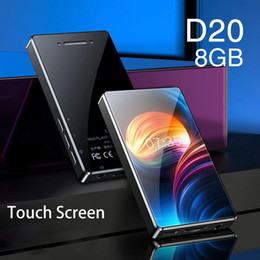 mp3 ruizu 2019 - For RUIZU D20 Touch Screen Full Screen Video Playback Lossless Music Students Learn English With You Touch MP3 Player di