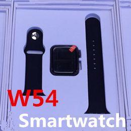 "$enCountryForm.capitalKeyWord Australia - New Smart Watch W54 1.54"" HD Touch Screen Wireless Charging Tracker ECG Sleep Monitor for Android iOS Smartphone Waterproof PK Z6 P70"