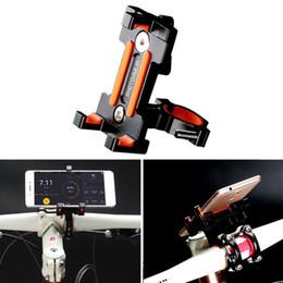 Phone Holders For Bikes Australia - Bicycle Phone Holder Aluminum Alloy Bracket For iPhone Samsung Universal Mobile Cell Phone Holder Bike Handlebar Clip Stand GPS Mount