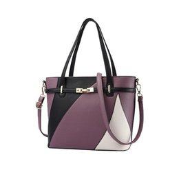 Bag Hand Korean Style Australia - Elegant Ladies Shoulder Bag Tote Fashion Korean Style Single Crossbody Messenger Hand Bags For Women Pu Business Handbag Totes