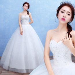 $enCountryForm.capitalKeyWord Australia - top quality sells the bride's wedding dress of 2019, Korean-style large-size brassiere lace skirt for marry wearing
