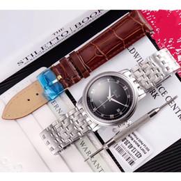 top case mens watches 2019 - Mens watch citzen automatic mov auto date Black Dial 316L Steel Case Bracelet Sapphire 38mm Men's Watches Top Quali