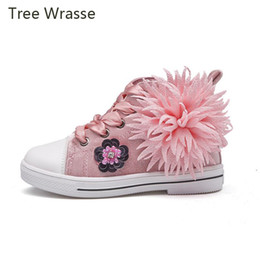 side zip shoes NZ - Tree Wrasse Children Shoes Kids Boots For Spring Autumn For Girls Ankle Boots Boys Shoes Fringe Side-Zip Flowers Baby Kids Boot