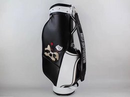Wholesale Brand New MU SPORTS Golf Standard Ball Package MU SPORTS Golf Bag PU Black Color Clubs Bag
