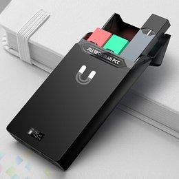 Caixa de Jili Original Caixa De Carregamento Portátil 1200 mAh Como Banco de Potência Uptown-tech para Vape Pen Pods Device Starter Kit DHL Livre em Promoção