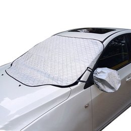 front end car 2019 - Winter Windshield Cover with Windshield and Wipers Cover for Ice Snow and Frost Protector - Durable Thicker Car Snow Cov