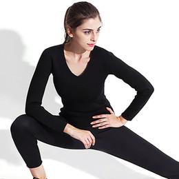 $enCountryForm.capitalKeyWord Australia - Women Yoga T-shirt Tops Elastic Sweating Slimming Sauna Suit Gym Fitness Sportswear Body Shaper Tees Shirts