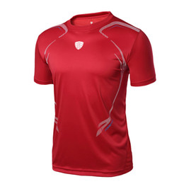 badminton clothing UK - mens Tennis shirts outdoor Running sports workout clothing badminton male t-shirt table tennis clothes tees tops