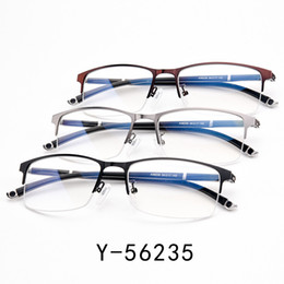 Chinese  High Quality Unique Eyeglasses Frames Ultra Light Ultra Thin Men Myopia Spectacle Frame manufacturers