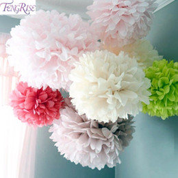 $enCountryForm.capitalKeyWord NZ - FENGRISE 5pc 20 25 30cm Wedding Decoration Flower Pompom Tissue Paper Pom Poms DIY Artificial Flowers Merry Christmas Decoration D19011101