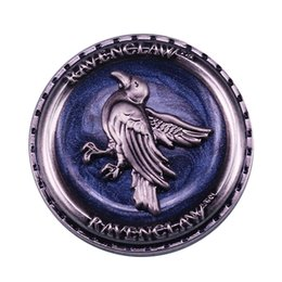 off housing Canada - Ravenclaw button badges Show off your house pride