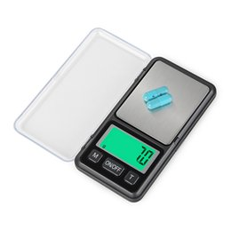 $enCountryForm.capitalKeyWord UK - Mini Portable Jewelry Scale 100g 200g 0.01g 500g 0.1g LCD Electronic Digital Pocket Scale Gold Silver Diamond Weighting Gram Weight Scales