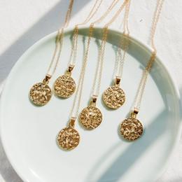$enCountryForm.capitalKeyWord Australia - 2019 Fashion new personality twelve constellation pendant lock bone chain simple item necklace