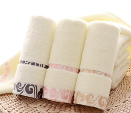 Discount hair 33 - Cotton Embroidered Towel High Quality Soft Face Towels Thicken Beach Bath Towels for Adults 33*75 cm