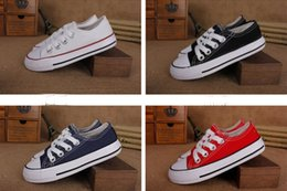 ShoeS 34 online shopping - 2019 New Brand Kids Star Canvas Shoes Fashion High Low Children Shoes Boys and Girls Sports Chuck Classic Canvas Shoe Size
