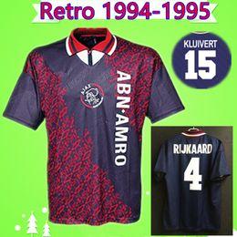4e081fcfa73 Vintage Soccer Jerseys Canada - Ajax 1994 1995 Retro soccer jersey away  classic vintage antique football
