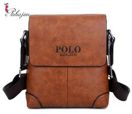 Mens Cross Body Bags NZ - Nice Tide Famous Brand Design Leather Men Bag Casual Business Leather Men Messenger Bags Vintage Fashion Mens Cross Body Bag