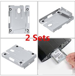 $enCountryForm.capitalKeyWord Australia - Hard Disk Drive bays Base Tray HDD Mounting Bracket Support for Sony Playstation 3 PS3 PS 3 Super Slim 4000 With Screws