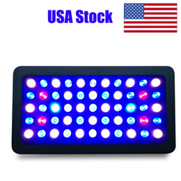 Wholesale LED Aquarium Light 165W Full Spectrum Dimmable for Fish Tank Coral Reef Growth in Freshwater and Saltwater with White Blue Lamp