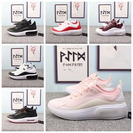 Shoe Brands For Women NZ - 2019 New Air Dia Se Black Pink Running Shoes for Women Brand Designer Red Grey Dias Se Racer Womens Sneakers Size 36-40