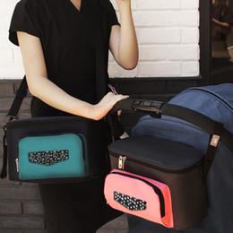 $enCountryForm.capitalKeyWord Australia - Diaper B ag Baby Stroller Wheelchairs Organizer Grey Pram Hanging Bottle Bag Maternity Ba g Backpack For Mommy Baby Care Nappy Bag