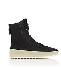 China fear of god men shoes Jungle Nylon & Leather Sneakers fog Boots mens canvas shoes 2018 brand mens designer boots men cheap plain black wedges suppliers