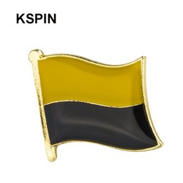 Australia Germany Friendship Flag Label Pin Metal Badge Badges Icon Bag Decoration Buttons Brooch For Clothes 1pc Home & Garden