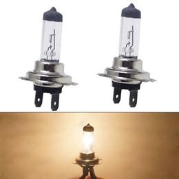 H7 55w Halogen xenon bulbs online shopping - 2PCS H7 W W V Xenon Halogen Car Headlight White Light Lamp Bulbs High Quality and Durable Practical Item l0415