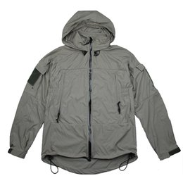 Nylon Coating Australia - TMC3229 New PCU L5 Tactical windbreaker coat Cordura Nylon Soft Shell Fabric