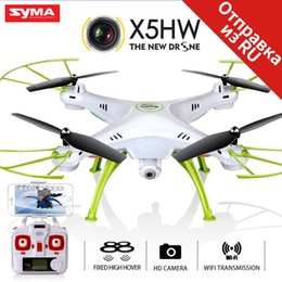 Wifi Camera Toy Australia - SYMA X5HW Drone With Camera HD Wifi FPV Selfie Drone Drones Quadrocopter RC Helicopter Quadcopter RC Dron Toy (X5SW Upgrade)