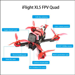 Esc Controller NZ - iFlight XL5 226mm 5 inch MultiCopter Hexacopter FPV Racing Drone kit with 4-in-1 ESC F4 flight controller Vehicles Remote Control Toys