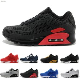 high quality running shoes Australia - High Quality Air Cushion KPU Men Women Black White Sport Running Shoes Homme Chaussures classical Sneakers Size 36-46